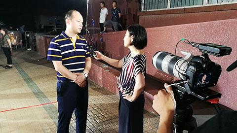 富莱茵花园项目接受北京电视台《向前一步
